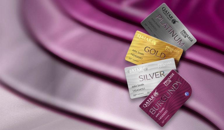 Qatar Airways Privilege Club medlemskort