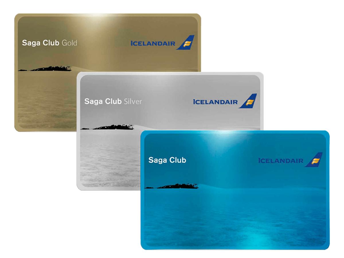Icelandair Saga Club medlemskort