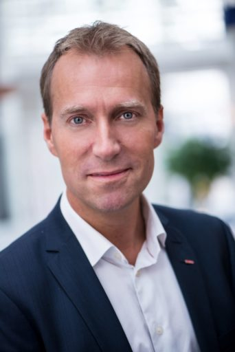 Konsernsjef Jens Mathiesen i Scandic Hotels