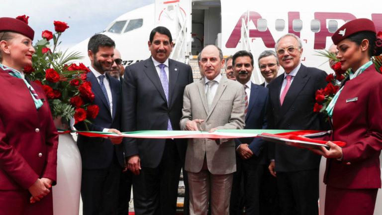 Air Italy Qatar Airways Boeing 737 MAX