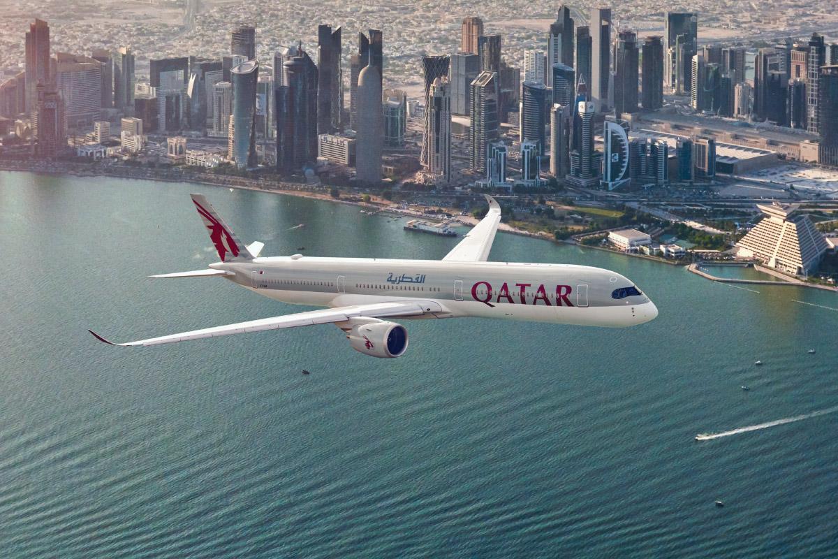 Qatar Airwas Airbus A350