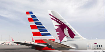 Qatar Airways og American Airlines med codeshare og strategisk samarbeid