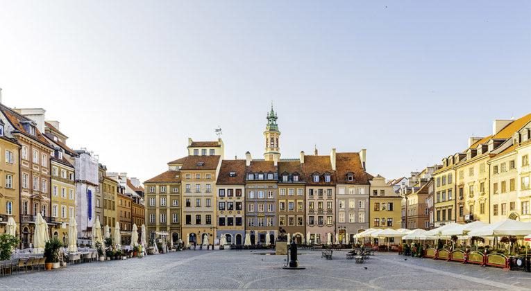 SAS med direkterute fra Stockholm til Warszawa i Polen