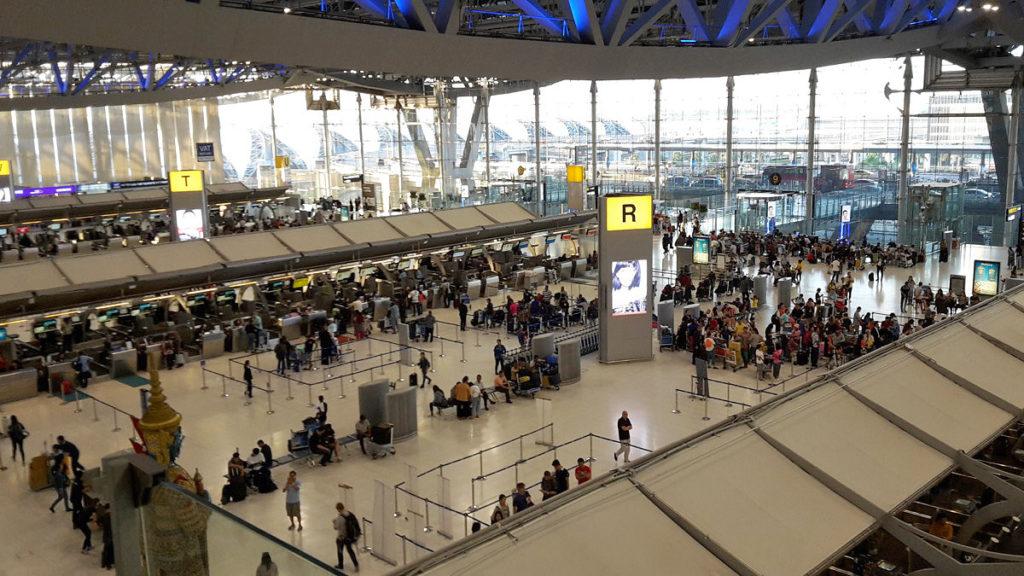 Suvarnabhumi lufthavn BKK