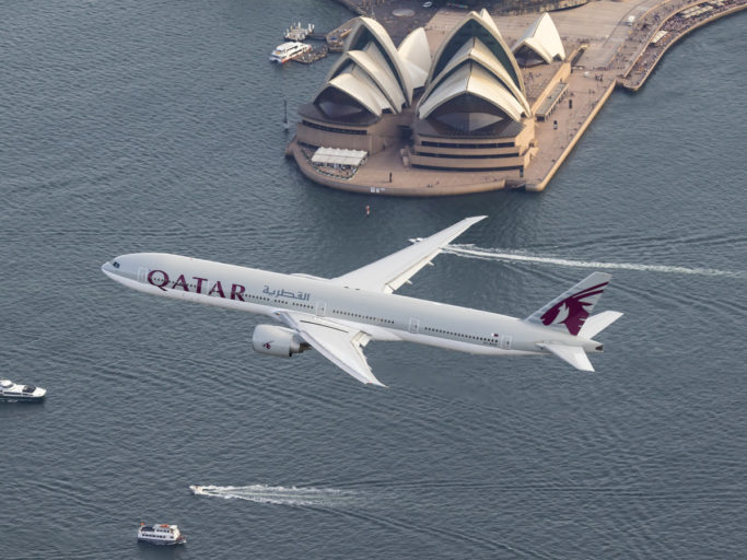 Qatar Airways setter inn ekstra kapasitet til Australia for å få folk hjem
