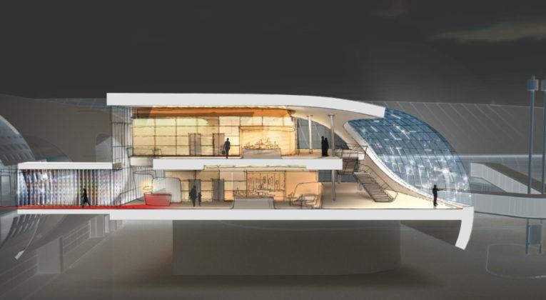 Air France' nye lounge på Paris Charles-de Gallue, terminal 2F