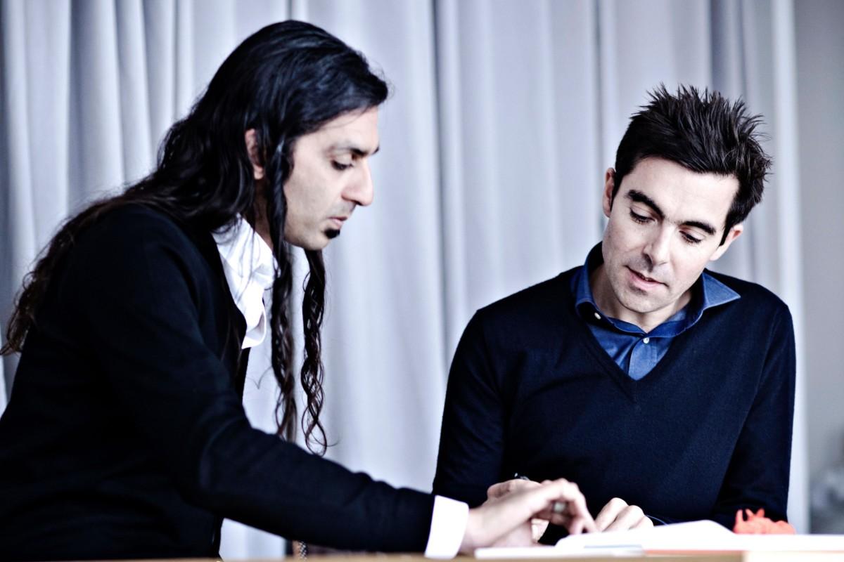 Patrick Jouin og Sanjit Manku i designstudioet Jouin Manku