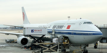 Air China Boeing 747-8