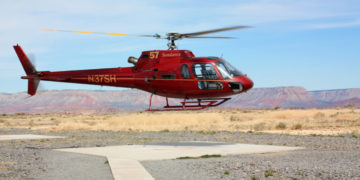 Helikoptertur fra Las Vegas til The Skywalk i Grand Canyon