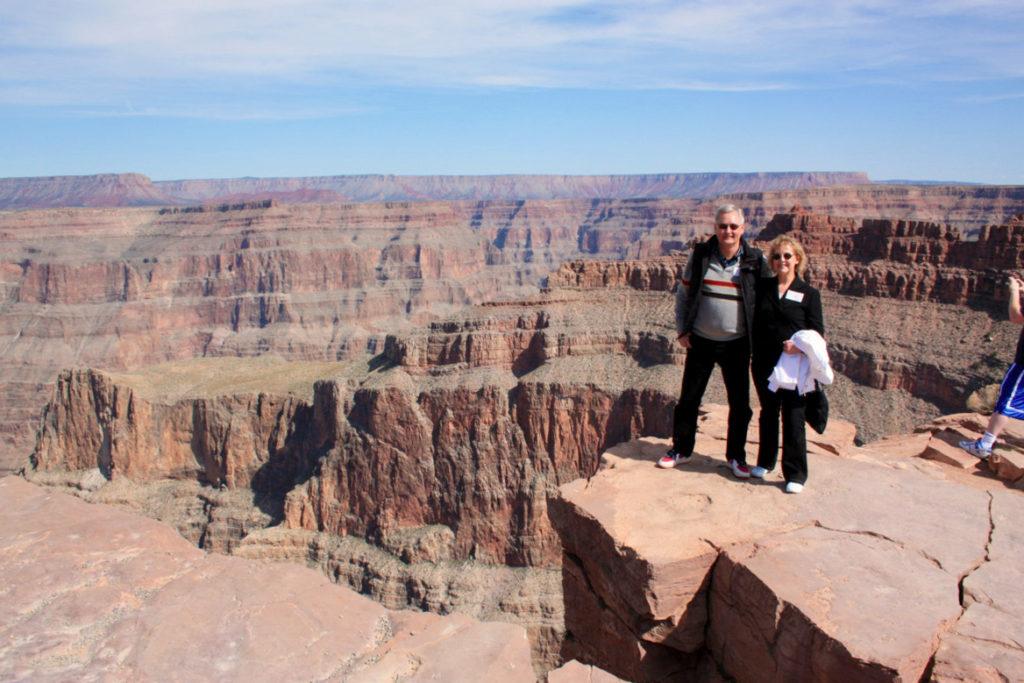 Helikoptertur fra Las Vegas til The Skywalk i Grand Canyon