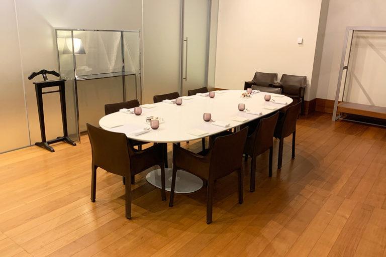 VIP-rom i buffetrestauranten