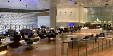 Qatar Airways Al Mourjan Business Lounge Doha