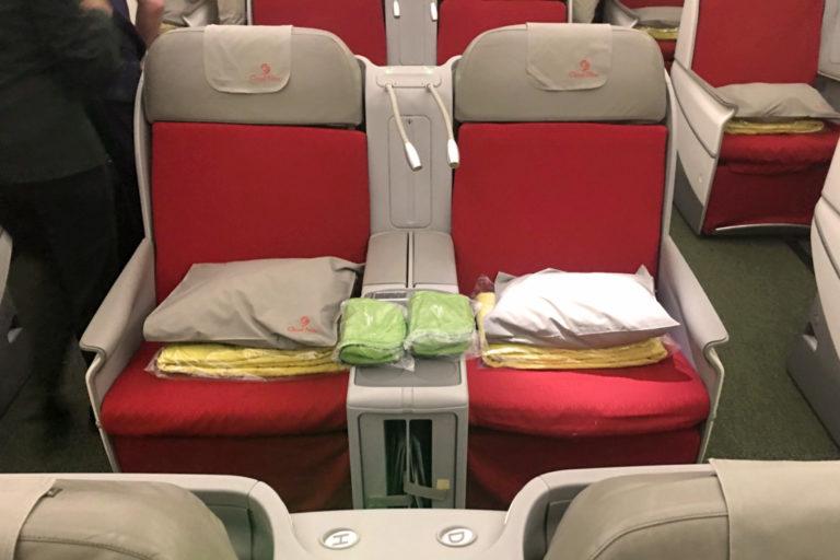 Ethiopian Airlines Cloud Nine Business Class Boeing 787