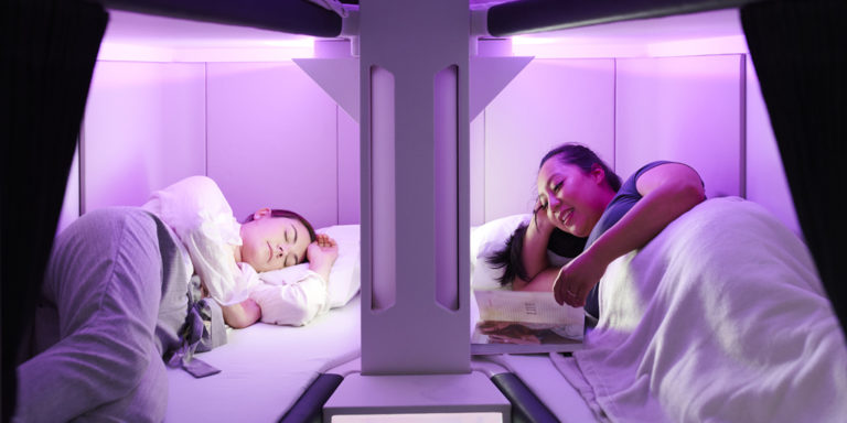 Air New Zealand prøver Economy Skynest