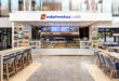 Edelweiss Café på flyplassen i Zürich