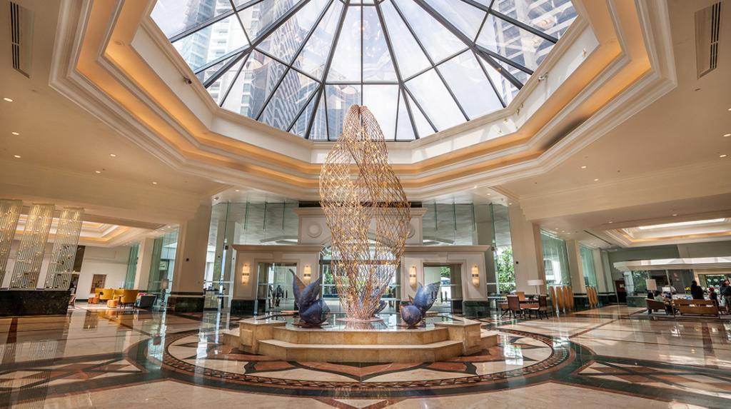 Lobbyen på Cinnamon Grand Colombo