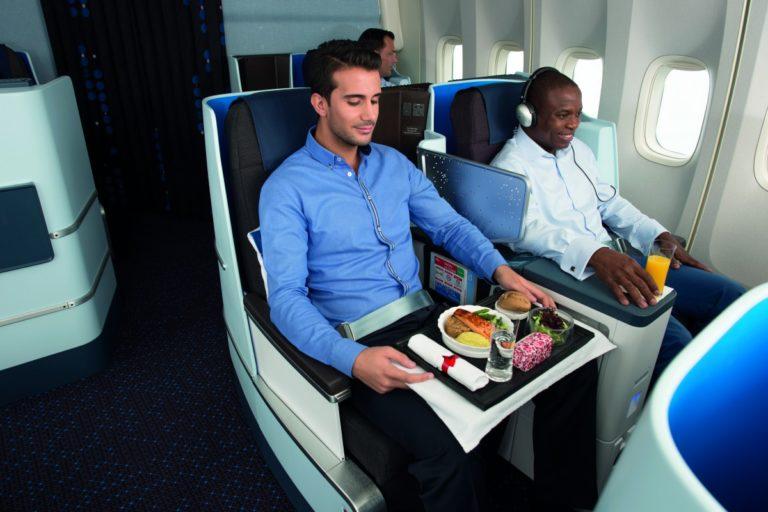 KLM Boeing 747-400 World Business Class