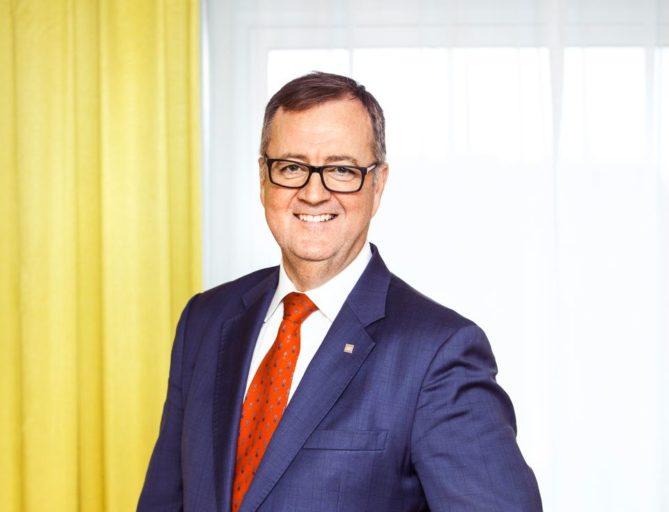 Morten Thorvaldsen, konserndirektør for Thon Hotels.