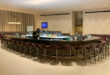 Qatar Airways Al Safwa First Class Lounge restaurant og bar