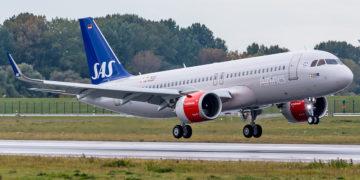SAS Airbus A320neo LN-RGL
