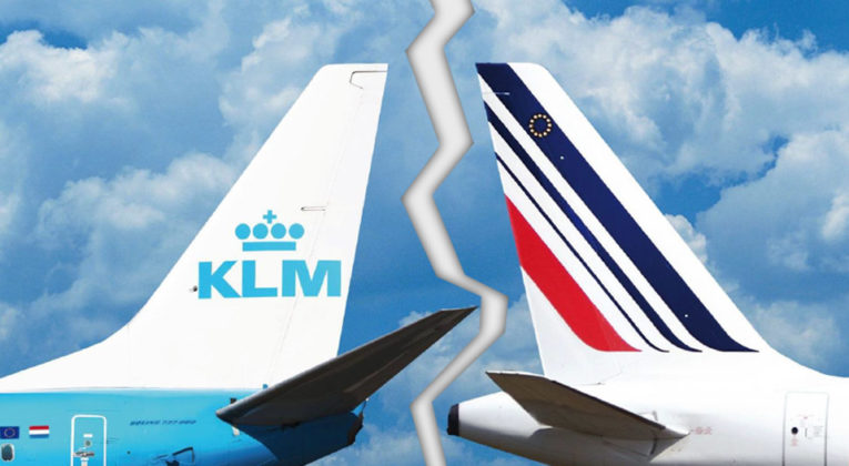 Kan gå mot skillsmisse for Air France og KLM