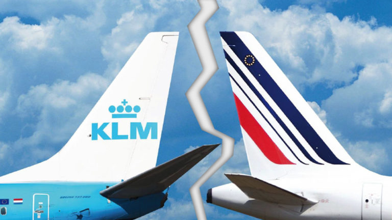 Kan gå mot skillsmisse for Air France og KLM