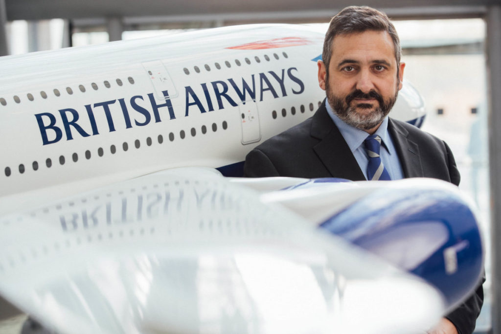 Alex Cruz, konserndirektør og styreleder i British Airways