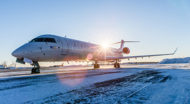 CityJet Bombardier CRJ-900 for SAS