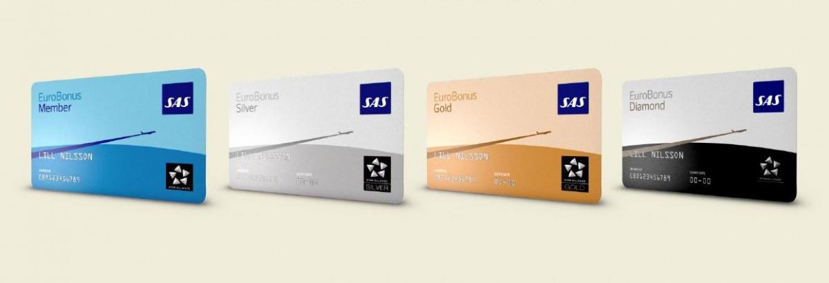 SAS Eurobonus medlemskort