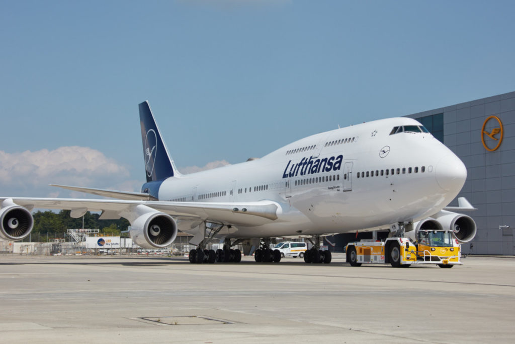 Lufhansa Boeing 747