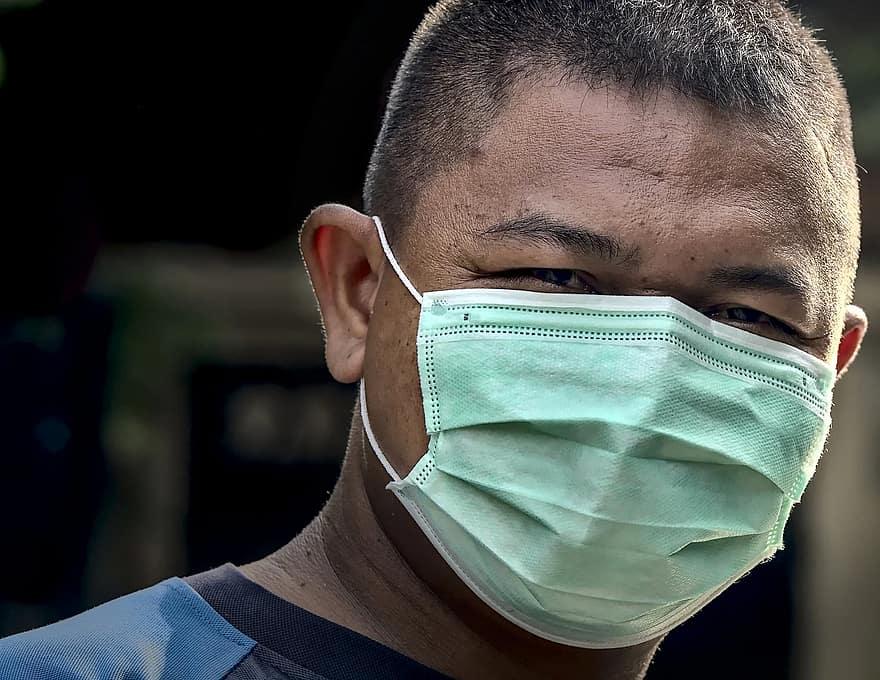 Beskytter munnbind mot koronviruset under flyreisen?