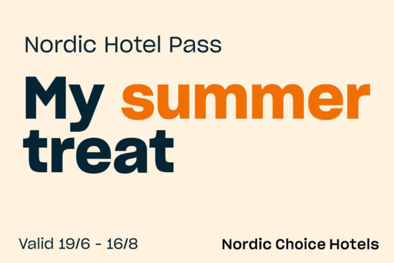Nordic Hotel Pass - My summer treat