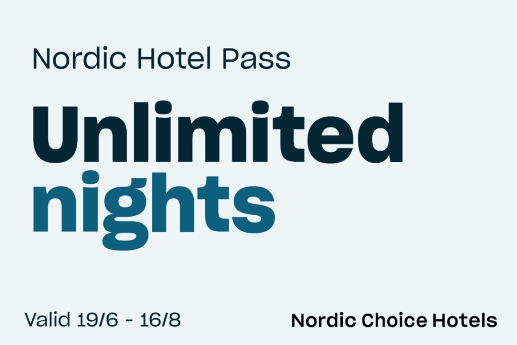 Nordic Hotel Pass - Unlimited nights