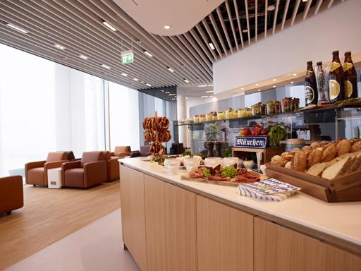 Lufthansa Senator og Business Class Lounge München