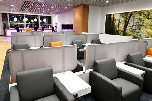 Lufthansa Senator og Business Class Lounge München og Frankfurt