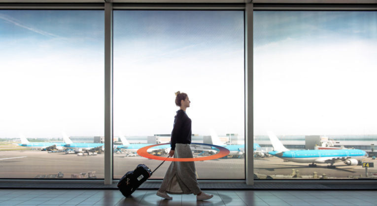 Sosial distansering med BAGTAG elektroniske bagasjelapper