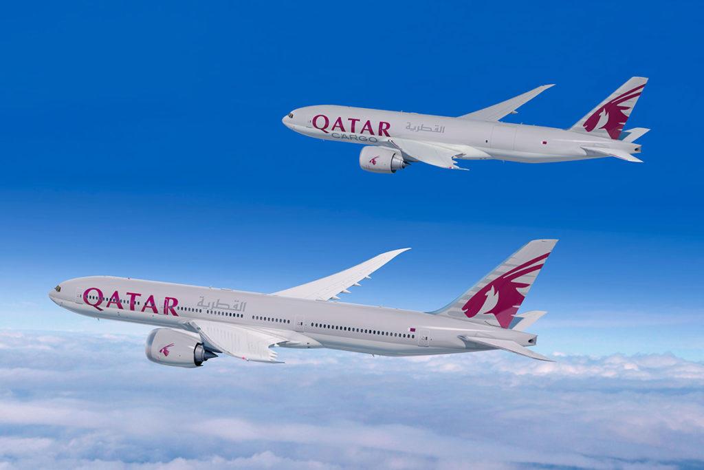 Qatar Airways Boeing 777X og 777F