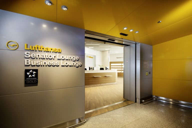 Lufthansa Business og Senator Lounge