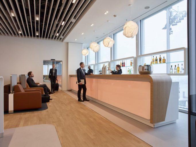 Lufthansa Business Lounge. München Flughafen
