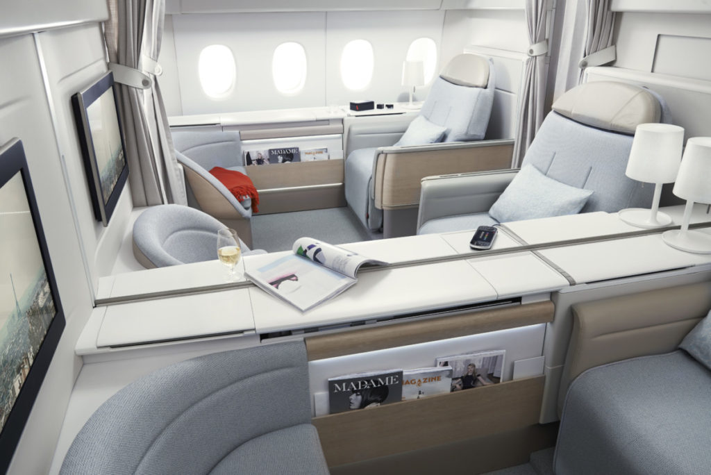 Air France La Première first class