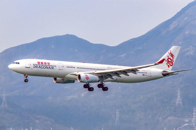Cathay Dragon 813 fra Shanghai Hongqiao, Airbus A330 B-HLJ