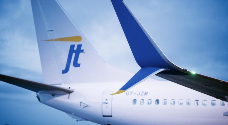 Danske Jet Time begjærer seg selv konkurs