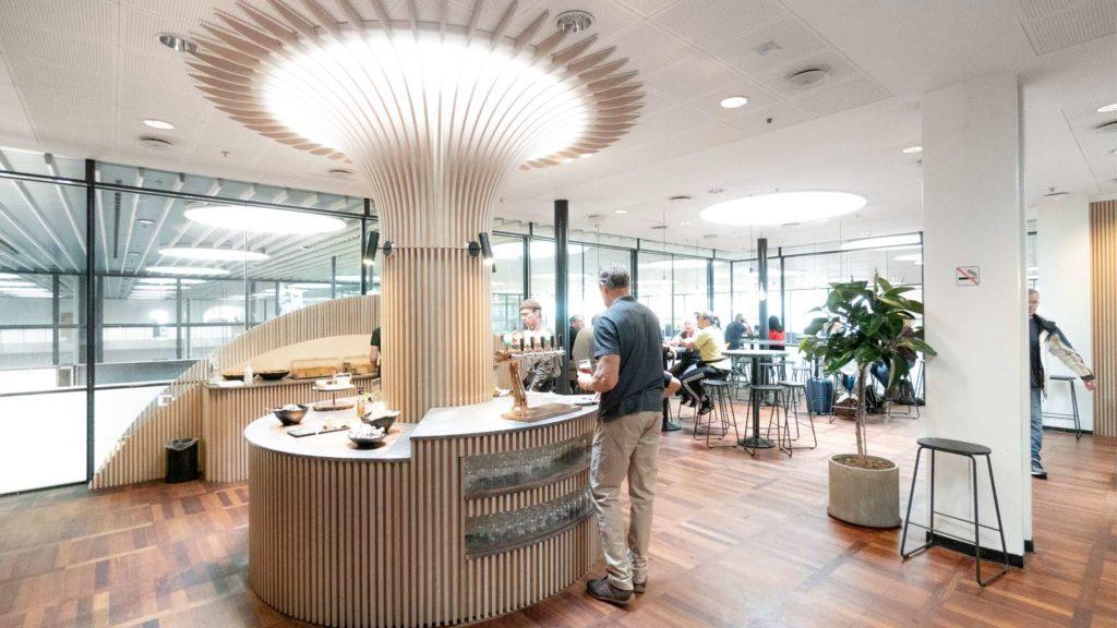Carlsberg Aviator Lounge på Københavns Lufthavn CPH
