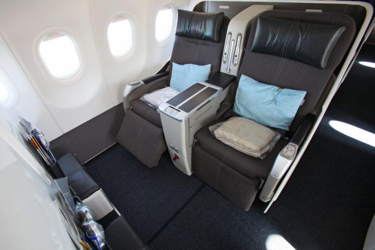 British Airways Airbus A318 B001/B002 London City Airport - New York Club World Business Class