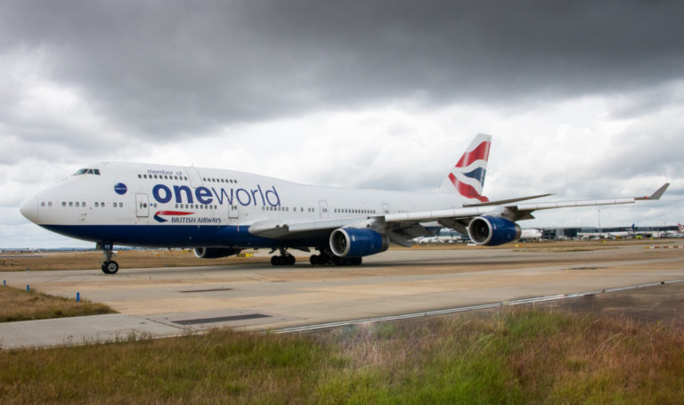 VIDEO: British Airways tar farvel med Boeing 747 Jumbojet