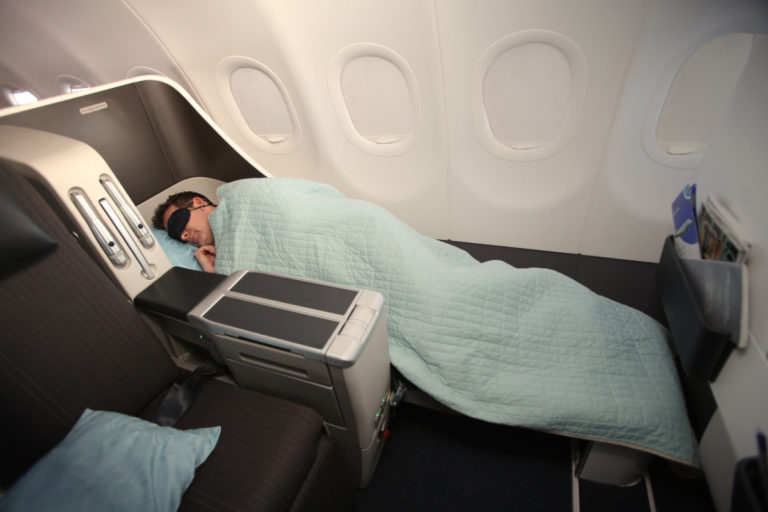 British Airways Airbus A318 BA001/BA002 London City Airport - New York Club World Business Class