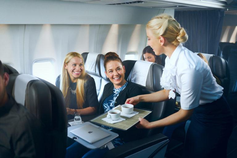 Icelandair Saga Premium business class