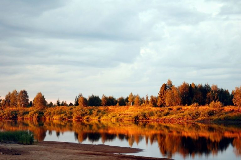Lappland, Finalnd, skog og natur