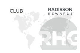 Radisson Rewards Club
