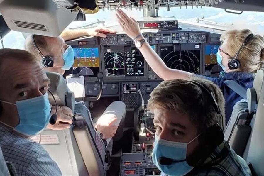 Boeing 737 MAX testflygning